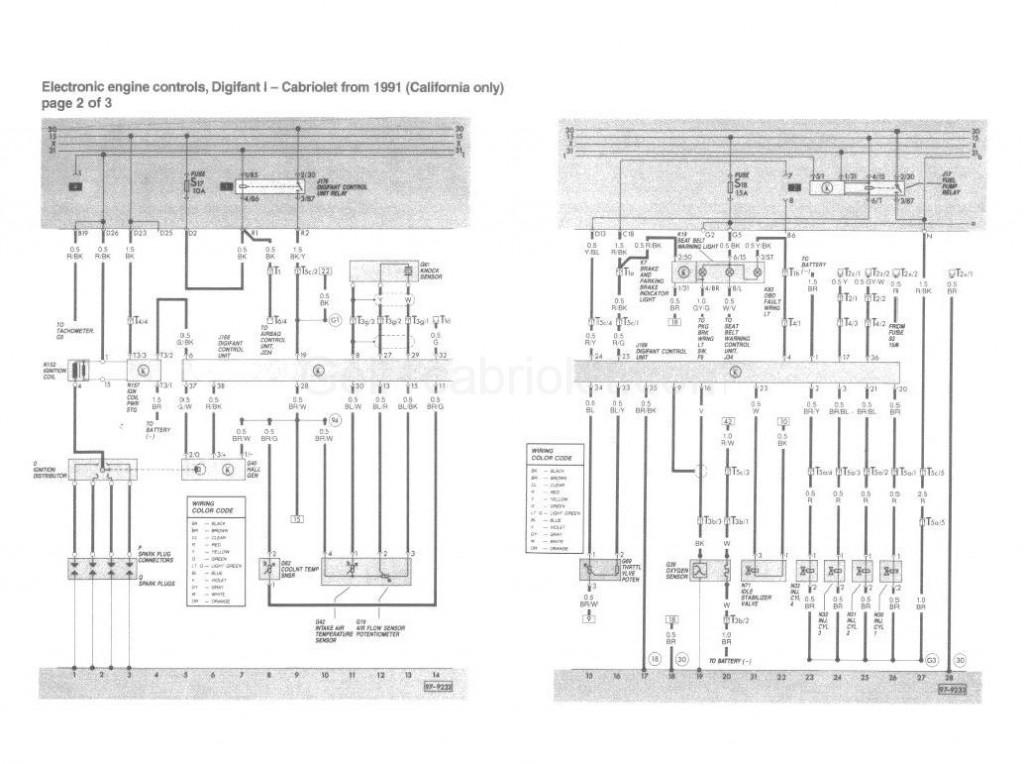 Le sch ma lectrique du digifant 1991 usa - Compteur electrique comment ca marche ...