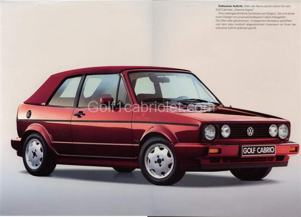fantastic savings latest discount pretty nice Etienne Aigner mars 1990 (All) - Golf1cabriolet.com