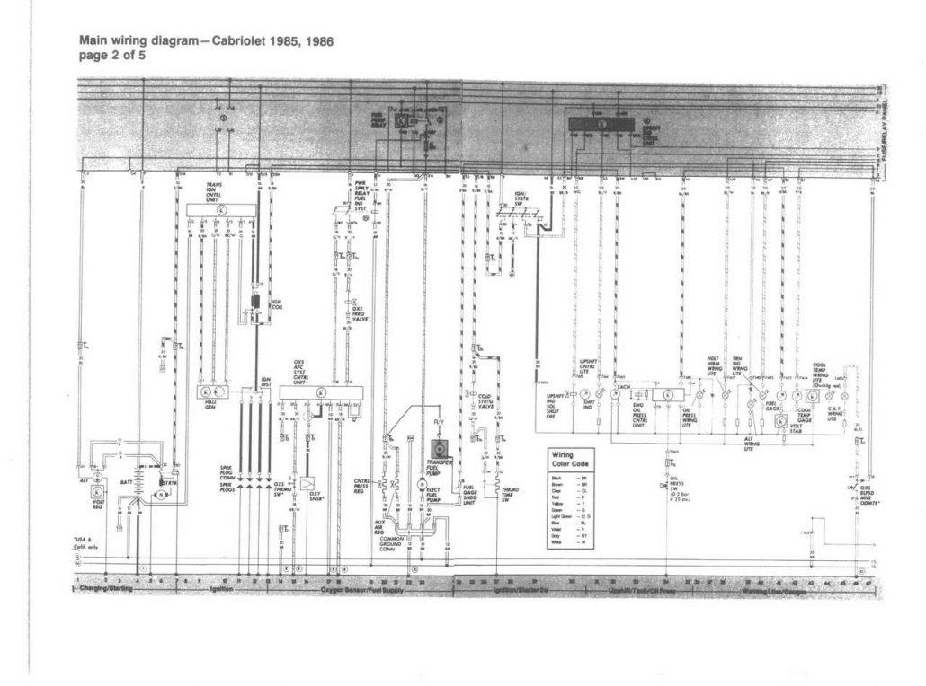 Les Schmas Lectriques De 1985 1991 Vw Cabriolet Wiring Diagrams Tlcharger